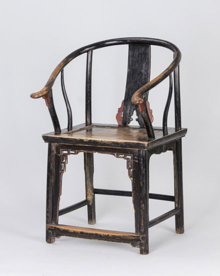 Shanju shanghai horseshoe armchair for X furniture shanghai